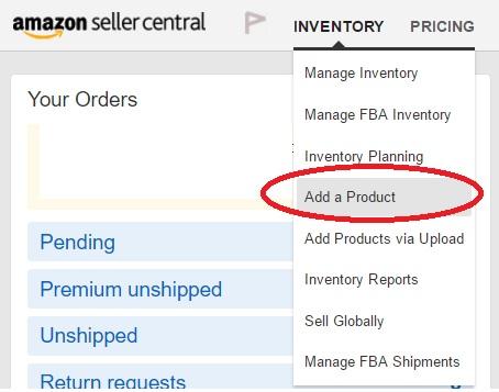 Amazon輸出出品方法