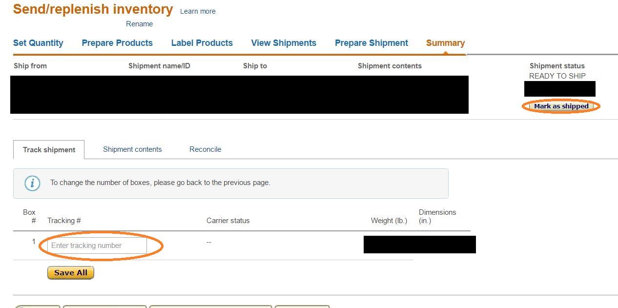 Amazon輸出 FBA納品