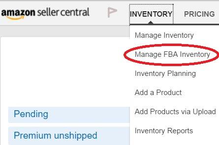 Amazon輸出 FBAの出品について(②出荷方法)