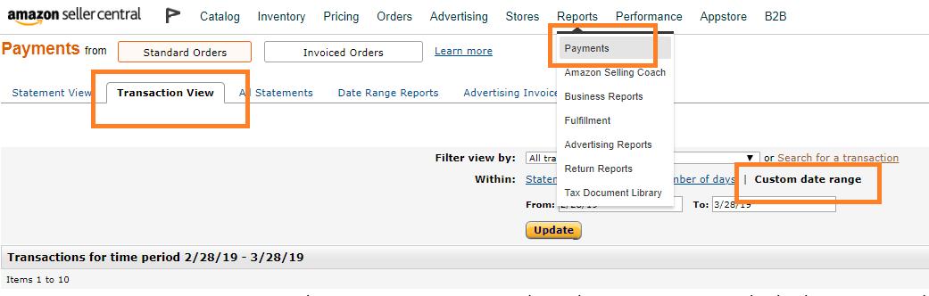 Amazon輸出 在庫保管料