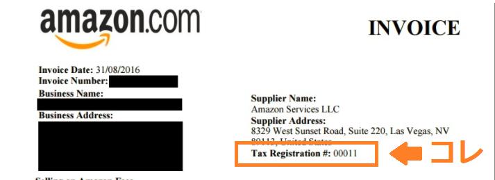 Amazon輸出 消費税還付