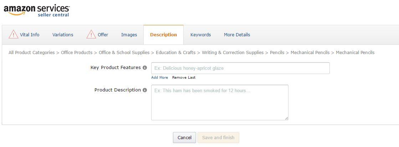 Amazon輸出 新規商品の登録方法
