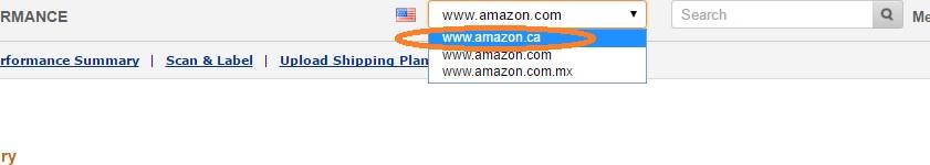 Amazon輸出 カナダ