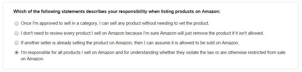 Amazon輸出 Beatyカテゴリー申請
