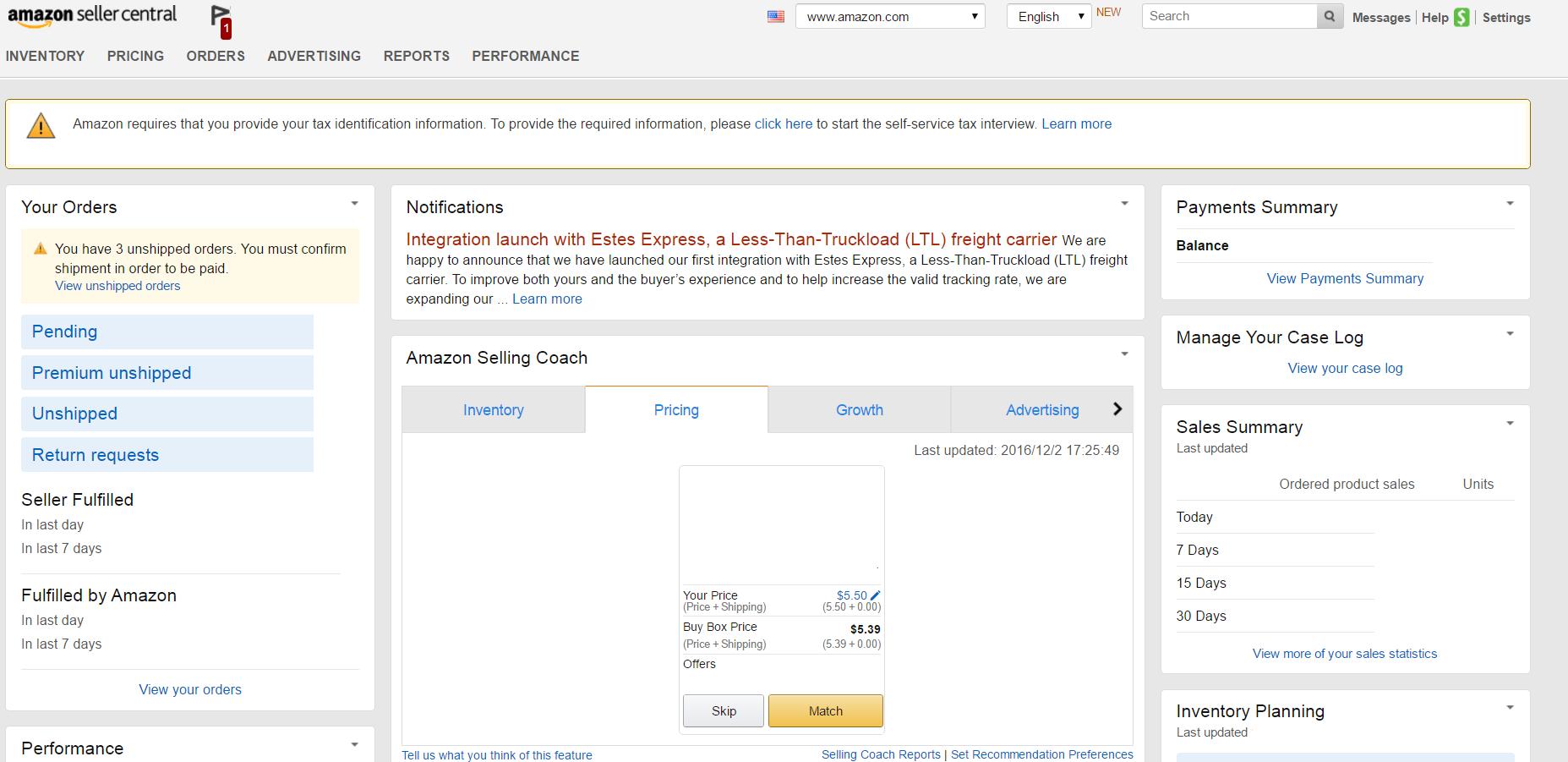 Amazon輸出 英語 必要