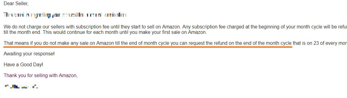 Amazon輸出 返金