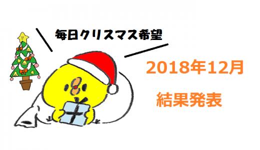 個人輸出 2018年12月月間報告