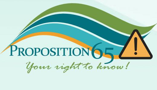 Amazon輸出 カリフォルニア州Proposition65(Prop65)の対応方法と注意点