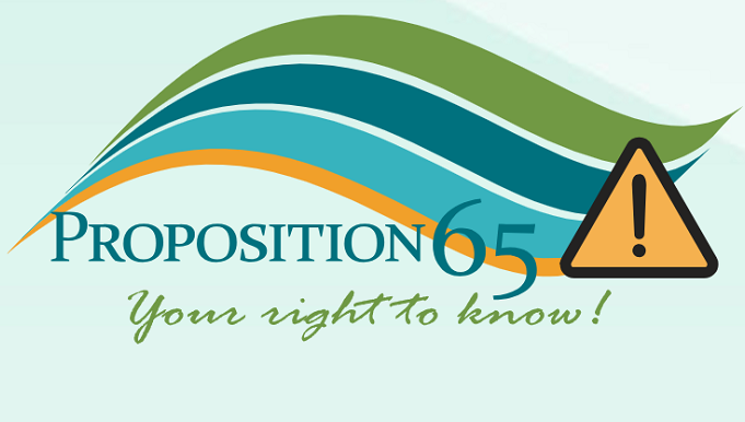 Amazon輸出 Proposition65