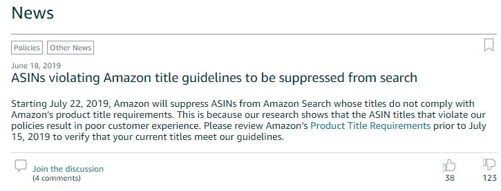 Amazon輸出 商品タイトル 付け方