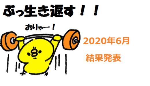 個人輸出 2020年6月月間報告